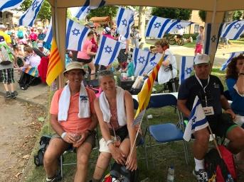 Pauze Israëlische verzorgingspost
